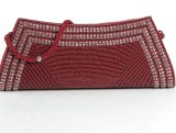 Aapno Rajasthan Girls Party Red  Clutch