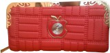 Sanshul Women Party Red  Clutch