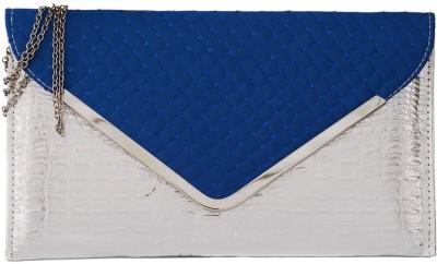 Fashnopolism Casual Blue  Clutch