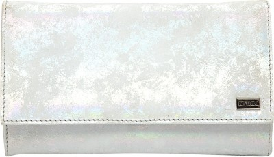 Kethini Women Casual Silver  Clutch
