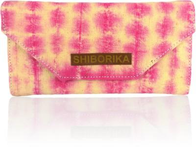 Shiborika Women Casual Pink  Clutch