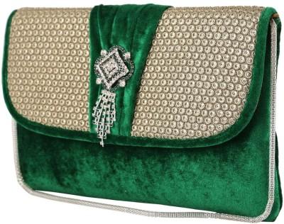 Dafter Luggage Women Wedding Green  Clutch