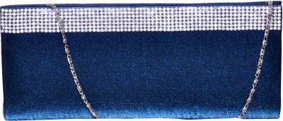 The Pari Women Casual Blue  Clutch