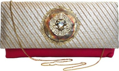 Bhamini Party Pink  Clutch