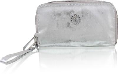 ZEPPAR Casual Silver  Clutch