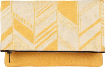 Rub & Style Casual Yellow  Clutch