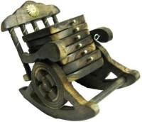 Craftmansion Square Wood Coaster Set(Pack of 6)