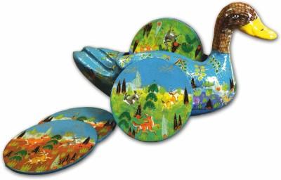 The Koshur Kul Triangle Hardboard Coaster Set