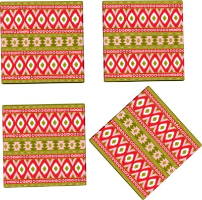 Kolorobia Square Wood Coaster Set