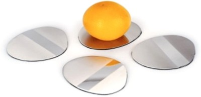 Arttdinox Round Steel Coaster