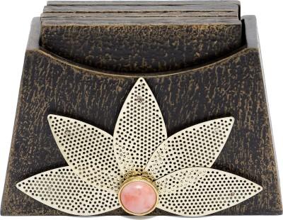 Aarav Designs Rectangle Wood Coaster