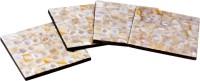 Treasure Hunt Square Ceramic Coaster Set(Pack of 4)