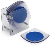 JVS Square Acrylic Coaster Set(Pack of 6)