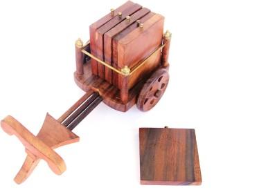 Woodpedlar Rectangle Wood Coaster Set