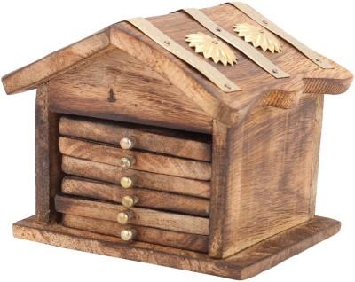 Shopnetix Square Wood Coaster Set