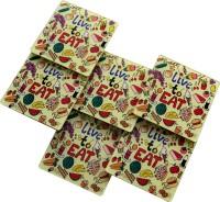 Baar Baar Dekho Square Acrylic Coaster Set(Pack of 6)