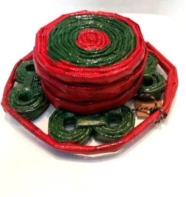 Expression Crafts Round Hardboard Coaster Set