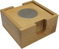 Radius Square Wood Coaster Set(Pack of 6)