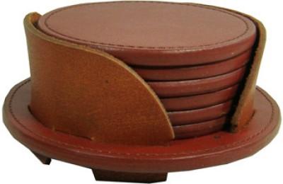Essart Round Wood Coaster Set