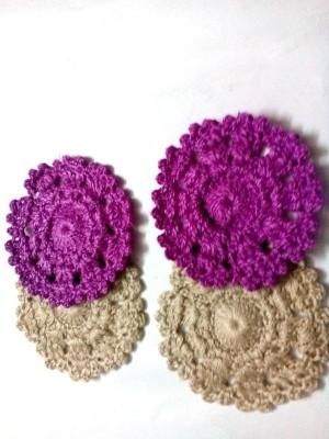 Expression Crafts Round Cotton Coaster