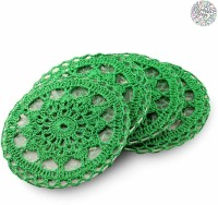 Gifting Nest Round Cotton Coaster Set(Pack of 4)
