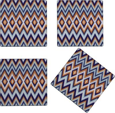 Kolorobia Square Glass Coaster Set