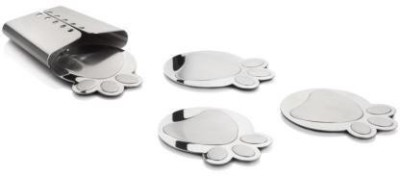 Arttdinox Oval Steel Coaster Set