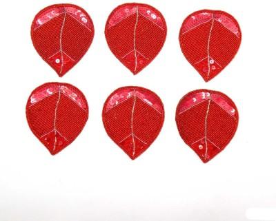 Himalaya Handicraft Heart Polyester Coaster Set