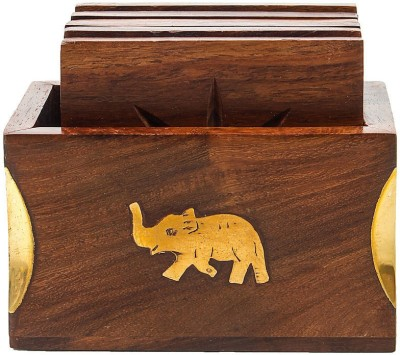 Craft Art India Rectangle Wood Coaster
