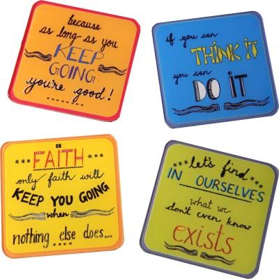 Baar Baar Dekho Square Acrylic Coaster Set