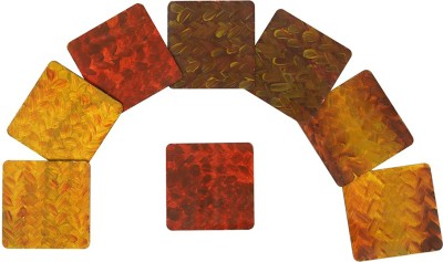 Rang Rage Square Medium Density Fibreboard Coaster Set
