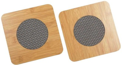 Orient Home Square Wood Coaster Set