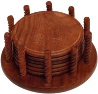 Crafts'man Square Wood Coaster Set(Pack of 6)
