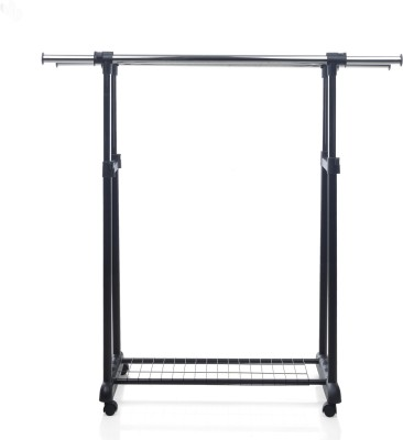 Royal Oak Metal Coat Stand(Finish Color - Black)