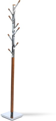 @home by Nilkamal Solid Wood Coat Stand