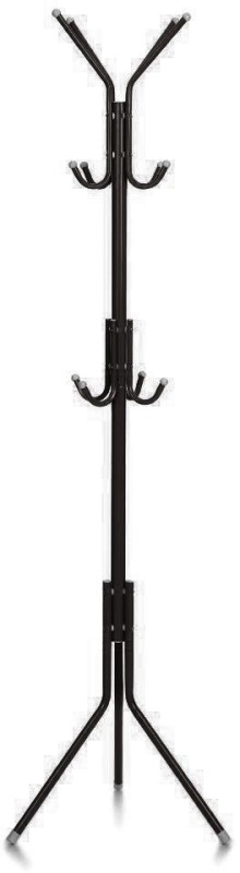 MSE Creative Fashion Hanging cloth Metal Coat Stand(Finish Color - Black)