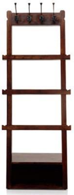 Urban Ladder Alfred Solid Wood Coat and Umbrella Stand(Finish Color - Mahogany)