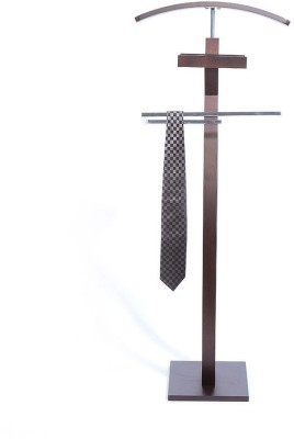 @home by Nilkamal Engineered Wood Coat Stand(Finish Color - Wenge)