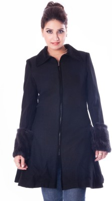TMS Apparels Women's Single Breasted Top Coat