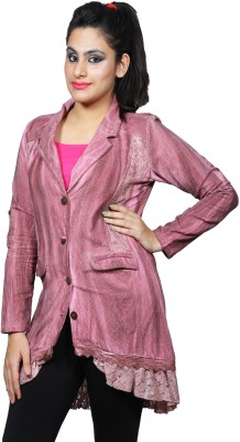 Polita Women's Single Breasted Coat at flipkart