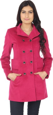 Eighteen4ever Women's Double Breasted Car Coat