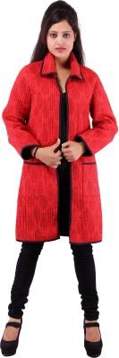 Albelishop Full Sleeve Printed Women,s Quilted Jacket