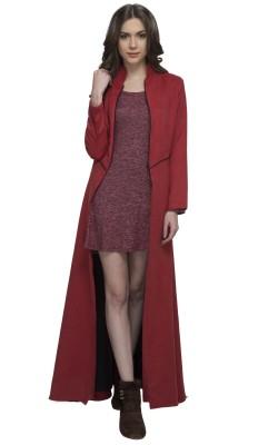 Athena Women's Single Breasted Coat at flipkart