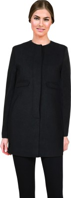 Lady Stark Women's Single Breasted Coat at flipkart