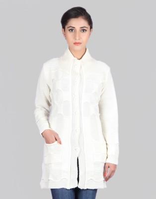 Montrex Women,s Button Self Design Cardigan