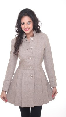 Trufit Women's Single Breasted Coat at flipkart