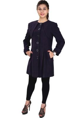 Lady Stark Women's Single Breasted Military Coat