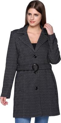 Trufit Women's Single Breasted Coat at flipkart