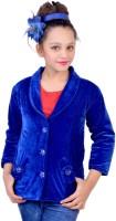 Kabeer Girls Single Breasted Coat
