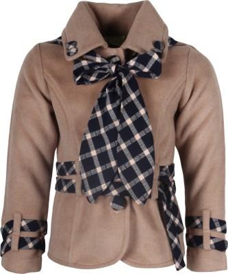 Cutecumber Girl's Single Breasted Top Coat